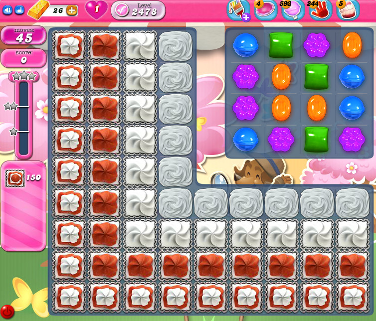 Candy Crush Saga level 2478