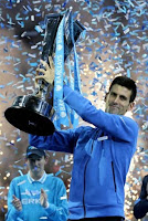Novak Djokovic wins ATP world tour