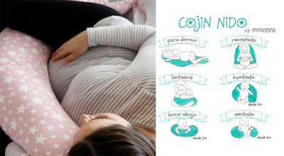 cojín maternidad nido lactancia blog mimuselina regalo embarazada