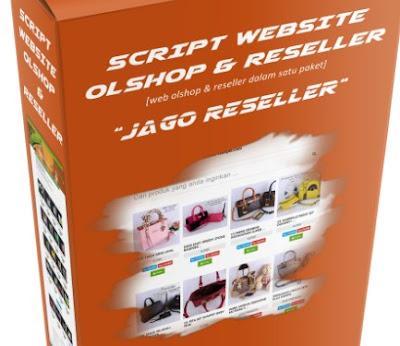 untuk Anda yang sedang mencari cara menciptakan website reseller toko online Script Web Reseller Jago Reseller