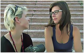 Carina Dias e Miriã Possani, Nós Duas Descendo a Escada