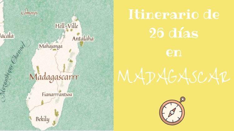 Madagascar itinerario 26 días