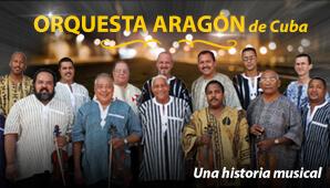 ORQUESTA ARAGON DE CUBA EN BOGOTA 1