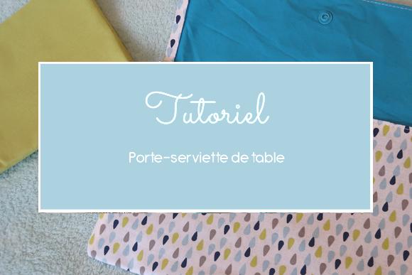 Cousu By Nath Coudre Un Porte Serviette De Table