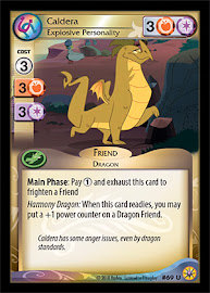 My Little Pony Caldera, Explosive Personality Friends Forever CCG Card