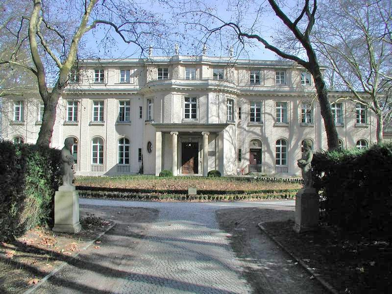 Villa Berlin and architecture mainly wannsee conference 1942 in a