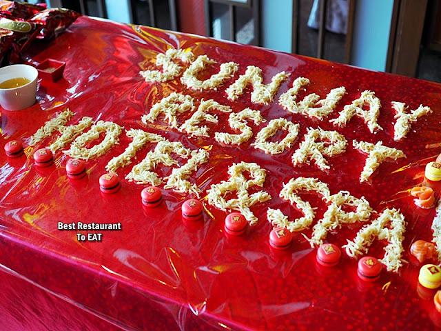 SUNWAY RESORT HOTEL & SPA CNY Set Menu - Yee Sang