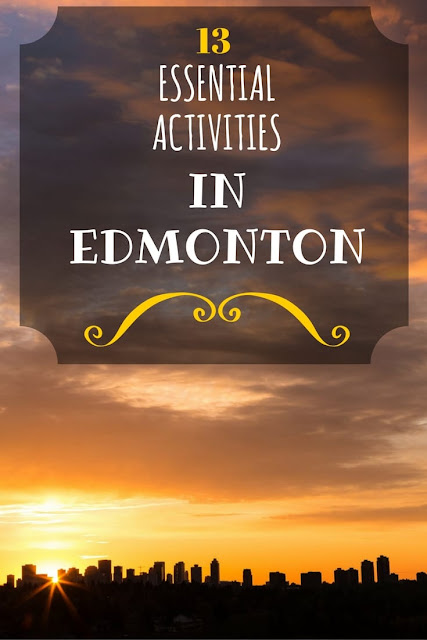 Everything you need to know for visiting Edmonton, Alberta, including what to do, where to eat, and where to stay!