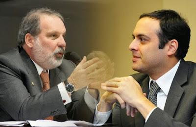 Resultado de imagem para Paulo Câmara e Armando Monteiro