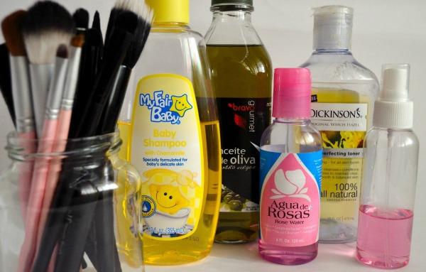 limpieza profunda brochas de maquillaje en casa