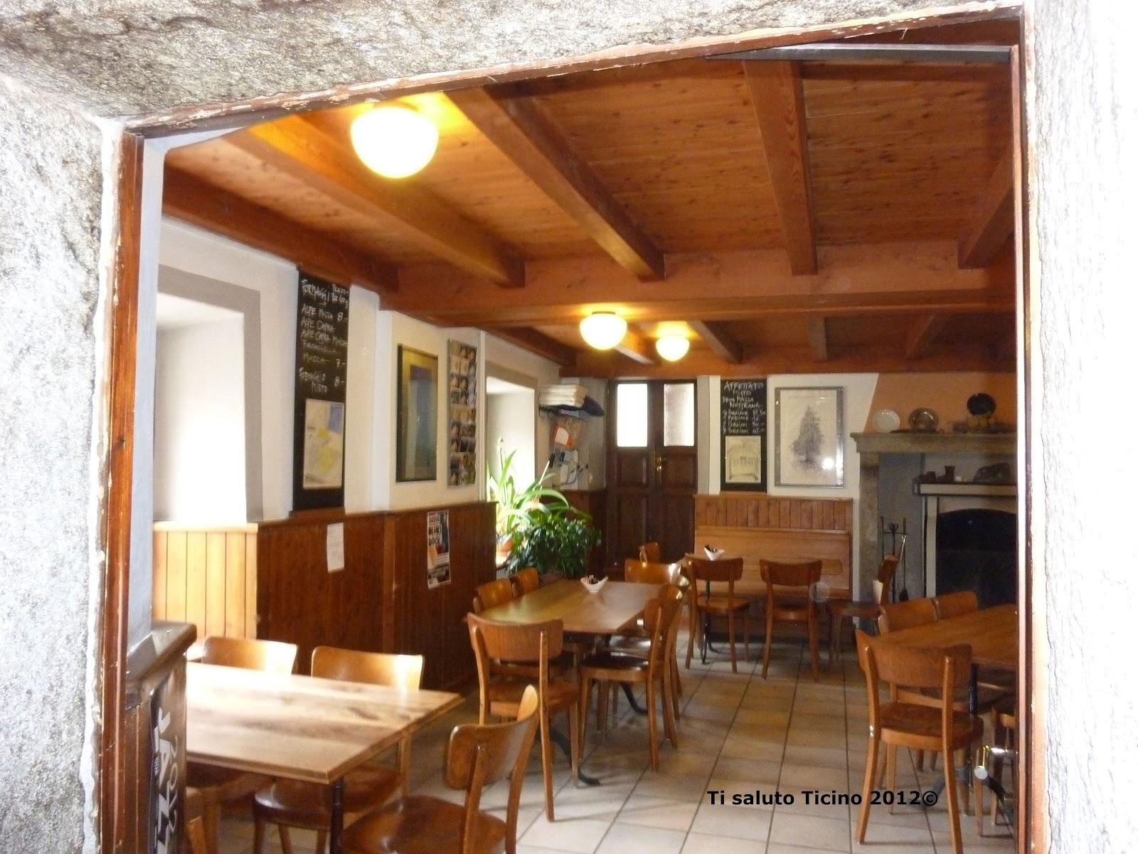 Ti Saluto Ticino: Osteria Centrale, Olivone, Valle di Blenio