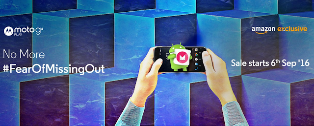 Motorola Moto G4 Play will go on sale in India starting September 6