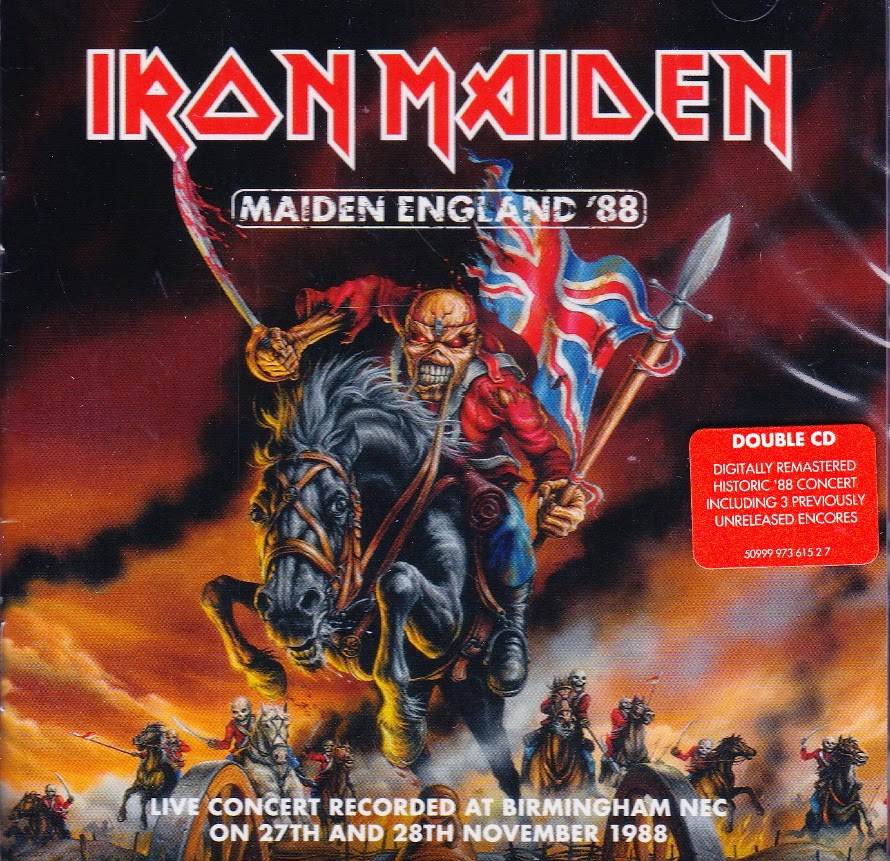 Iron Maiden England 88