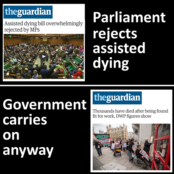 34780191e1d Today MPs voted overwhelmingly against changing the law to allow the  terminally ill assistance to die.