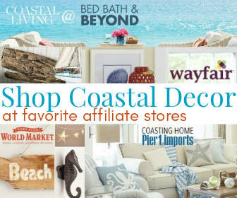Shop Coastal Decor at Favorite Affiliate Stores | Completely Coastal