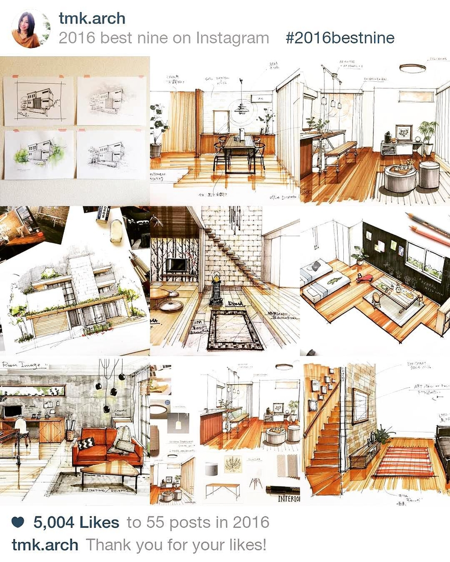 01 miyacyan inspiring interior design drawings ideas www - Interior Design Drawings