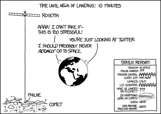 Philae... 10 minutes to landing