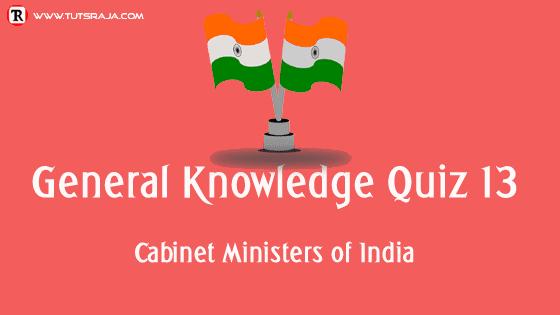 General Knowledge Quiz 13
