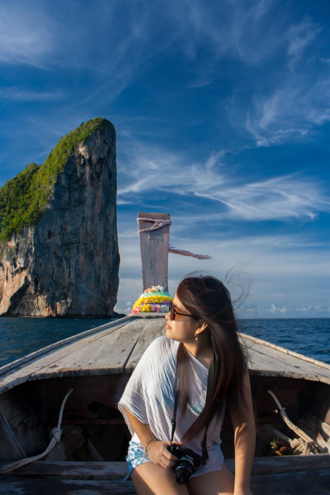 enroute to Maya Bay