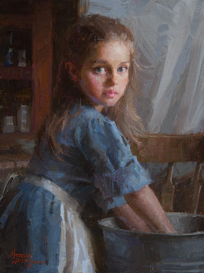 Американский художник. Morgan Weistling 3