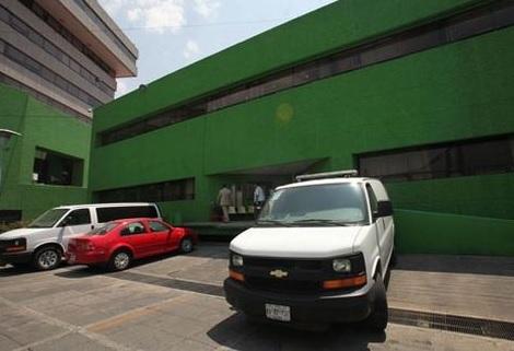 Edificio de la Procuraduría en Toluca