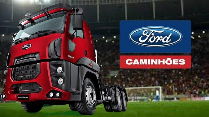 Ford Caminhões patrocina as finais da Copa do Brasil nos estádios e cinemas