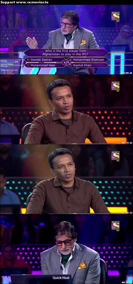 Kaun Banega Crorepati 19 Sept 2017 HDTV 480p 200MB