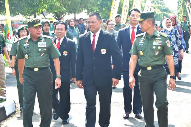 Panglima TNI Buka Eksebisi Yongmoodo Indonesia