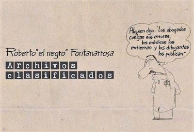 Fontanarrosa Biblioteca Nacional Archivos Clasificados