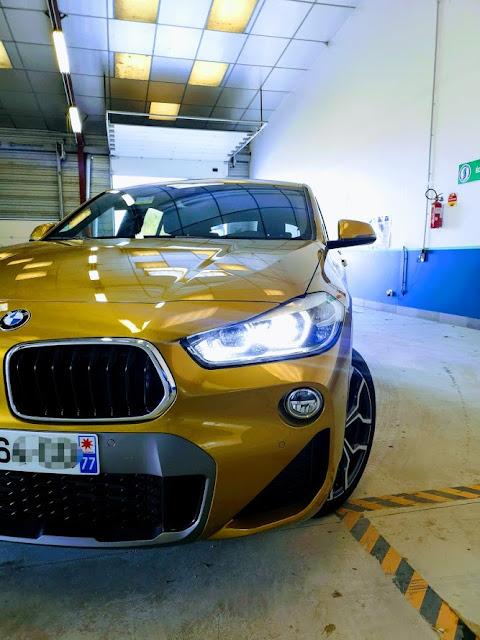 Shooting BMW X2