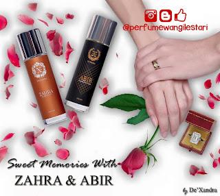 Dexandra Abir dan Zahra,Perfume Dexandra