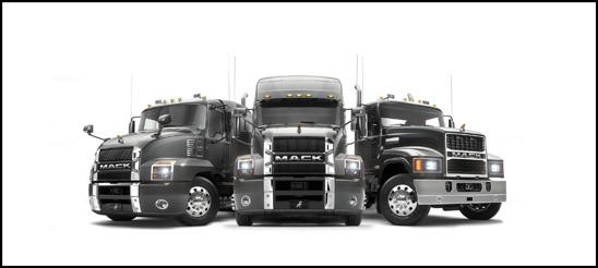 Mack Trucks Lineup at NACV 2019