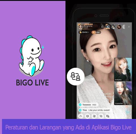 Peraturan dan Larangan yang Ada di Aplikasi Bigo Live