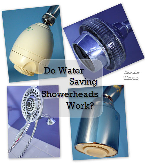 Do Water Saving Showerheads Work