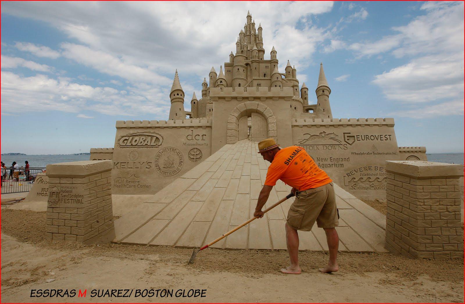 Sand Castle Compeion Revere
