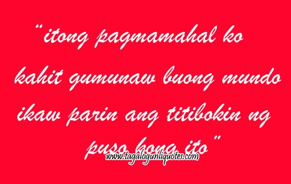 Tagalog Love Quotes Sweet For Him