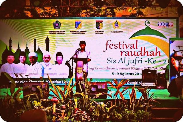 Partisipasi Pemerintah di Festival Raudhah Sis Aljufri Sangat Rendah