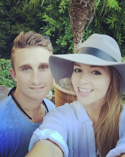 James With Wife