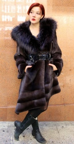 0d9919582 Marc Kaufman Furs NY Vegan's are Starting to Wear Fur Coats and Fur ...