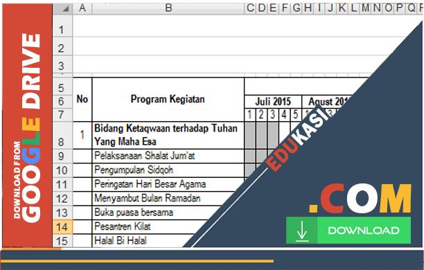 Contoh Program Kerja OSIS SMA dilengkapi Jadwal Format Doc Microsoft Word Terbaru