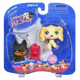 Littlest Pet Shop Pet Pairs Dobermann (#92) Pet
