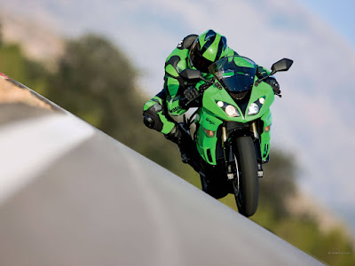 2016 Kawasaki ZX-6 Reacing tarck hd image