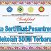 Blangko Sertifikat Pesantren Kilat Sekolah SD/MI Terbaru