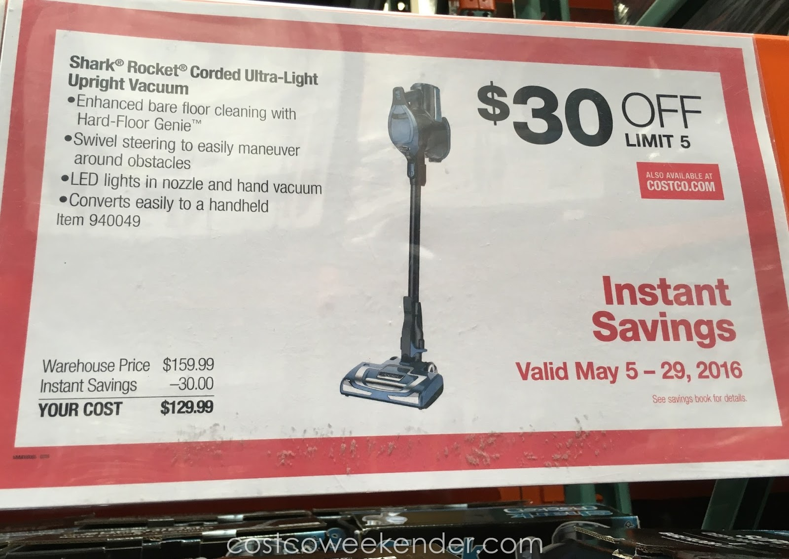 Costco Vacuum Cleaners