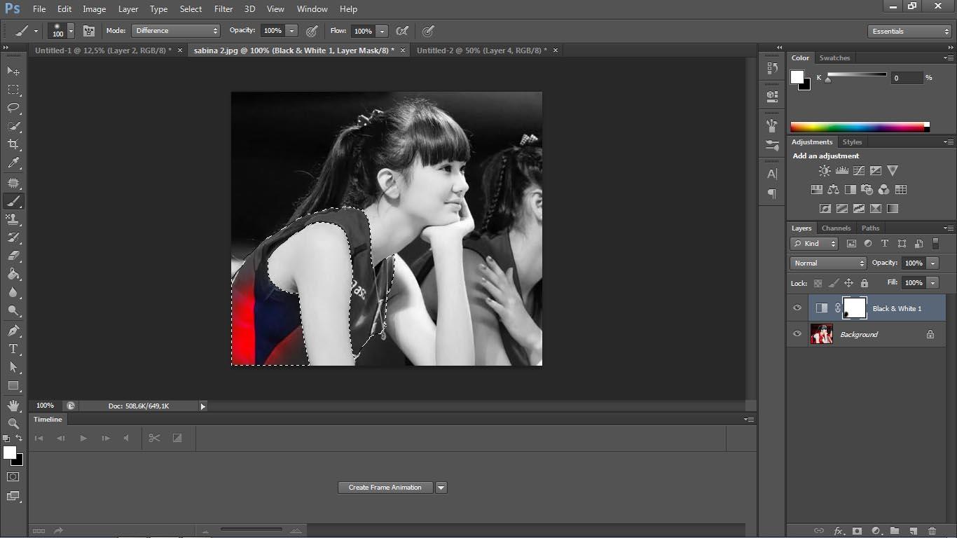 Cara membuat efek selective color dengan photoshop - Apapun
