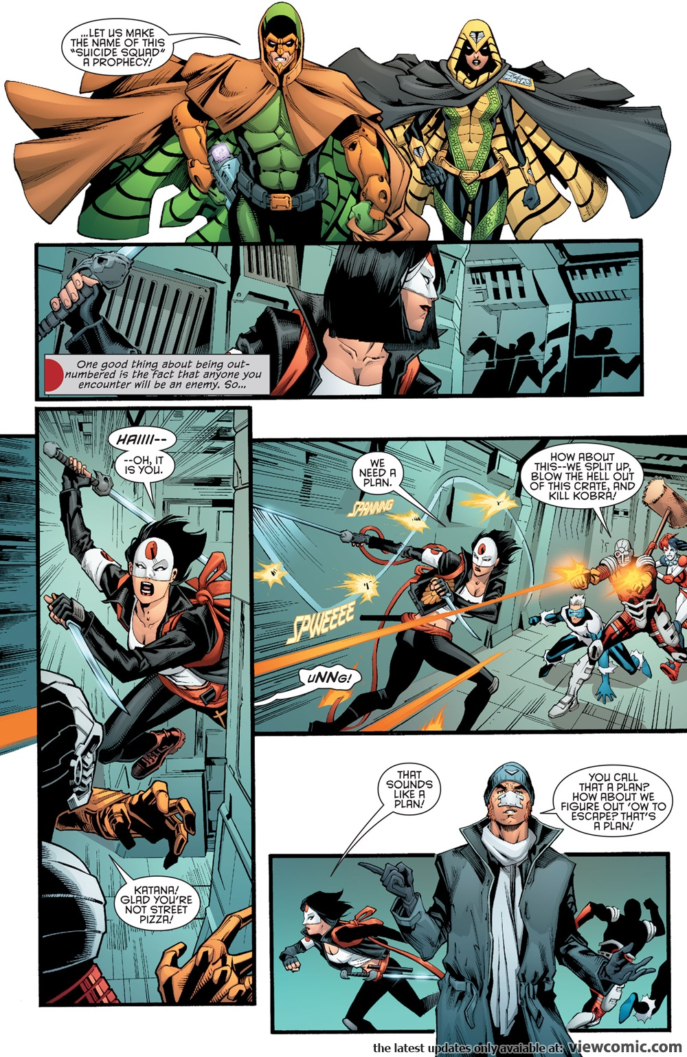 Suicide Squad Most Wanted – Deadshot and Katana 05 (of 06