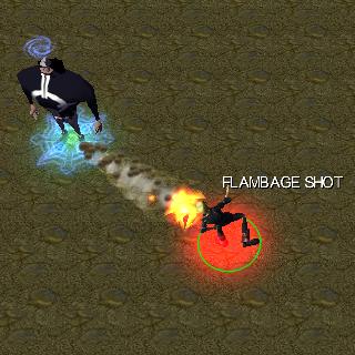flambage shot bleach vs one piece