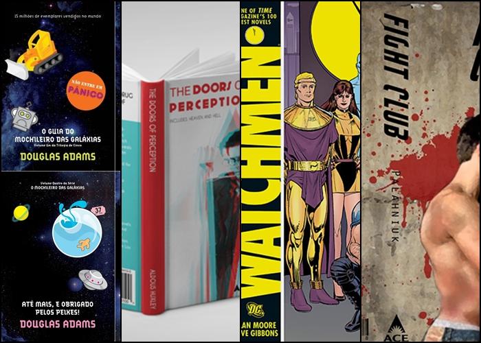 Passagens de livros que irão te inspirar a sair da tv e ir ler um livro.