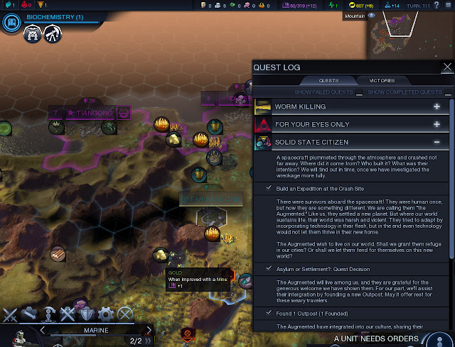 Civilization: Beyond Earth  | Quests Screenshot