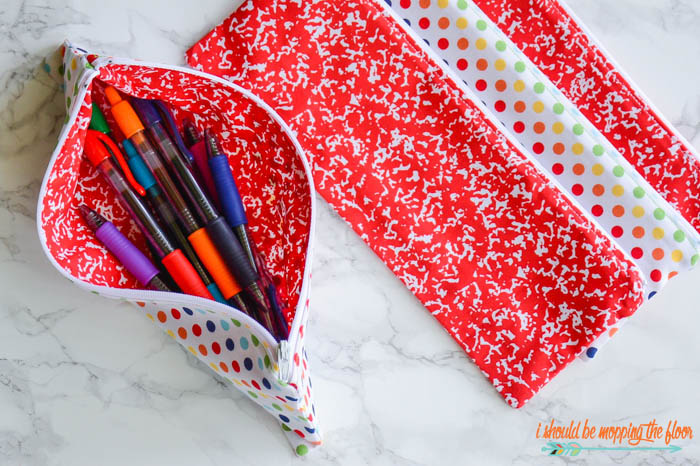 Sewing a Pencil Pouch
